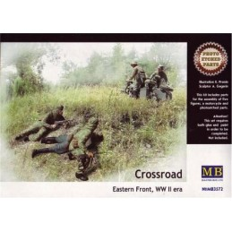 MB-3572 1/35 Crossroad Eastern front WWII era