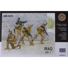 MB-3575 master box 3575 1/35 Iraq events Kit 1. US Marines