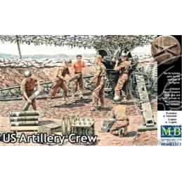 MB-3577 1/35 US Artillery Crew WW II