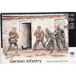 MB-3584 1/35 German Infantry. Western Europe. 1944-1945