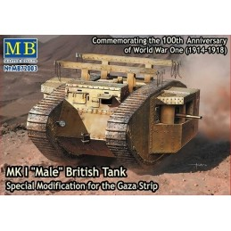 MB-72003 1/72 MK I Male British Tank Gaza Strip