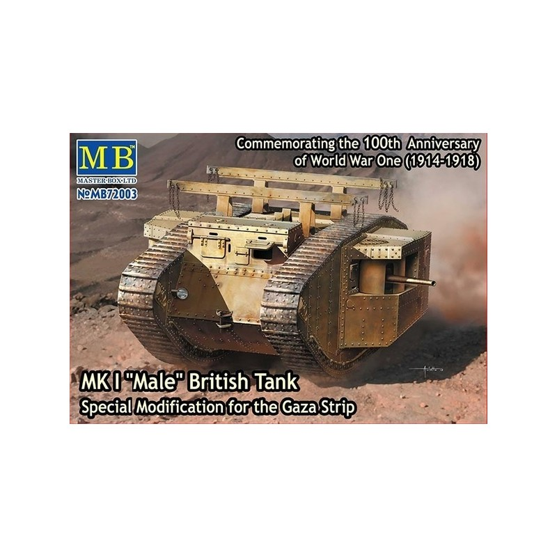 MB-72003 1/72 MK I Male British Tank Gaza Strip