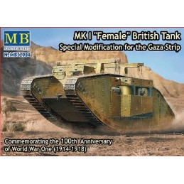 MB-72004 1/72 MK I Female British Tank Gaza Strip