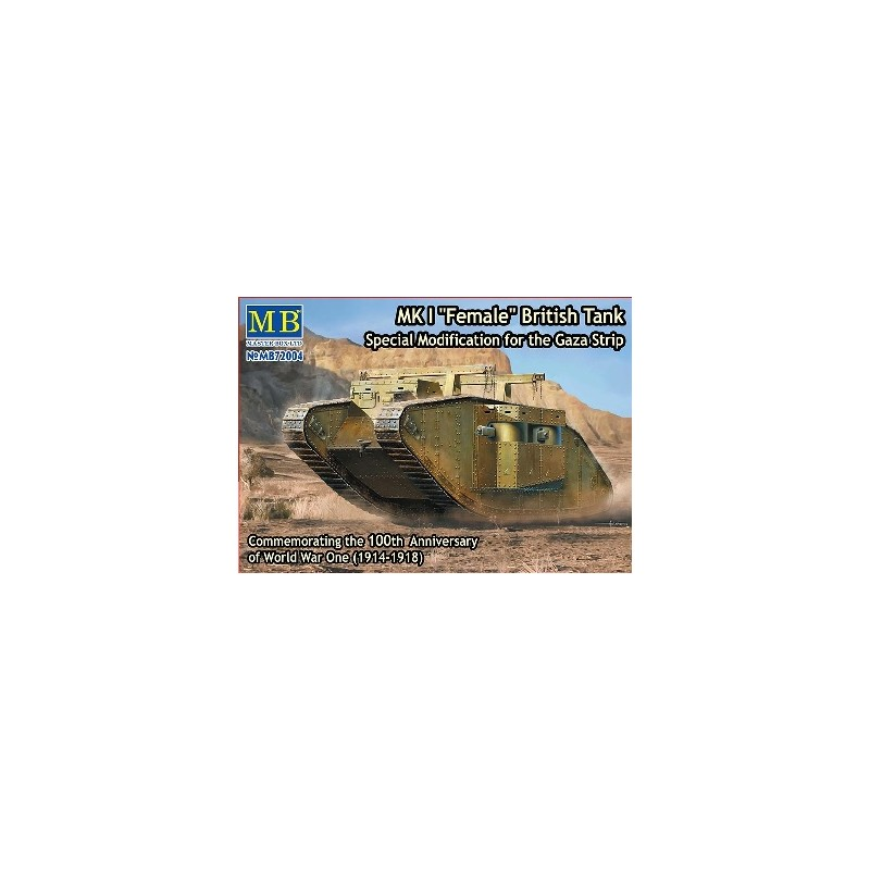 MB-72004 1/72 MK I Female British Tank Gaza Strip