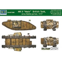 MB-72005 1/72 MK II Male British Tank, Arras Battle 1917