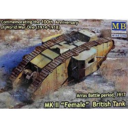 MB-72006 1/72 MK II Female British Tank, Arras Battle 1917