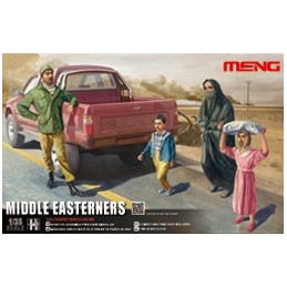 MENG-HS0011 1/35 Middle Easterners in The Street 013017
