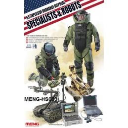 MENG-HS003  1/35 U.S. EXPLOSIVE ORDNANCE DISPOSAL SPECIALISTS  ROBOTS