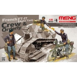 MENG-HS005 Meng  HS005 1/35 French FT-17 light tank crew  ordery