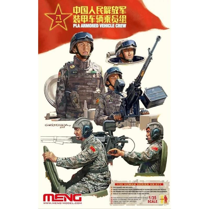 MENG-HS011 Meng HS011 TRIPULANTES DE VEHICULOS EJERCITO CHINO