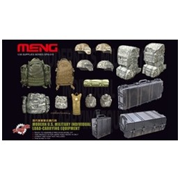 MENG-SPS015 1/35 MODERN U.S. MILITARY INDIVIDUAL LOAD-CARRYING EQUIPMENT