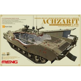 MENG-SS008  1/35 ISRAEL HEAVY ARMOURED PERSONNEL CARRIER ACHZARIT LATE
