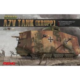MENG-TS017 meng ts017 1/35 German A7V Tank(Krupp)+fotograbados