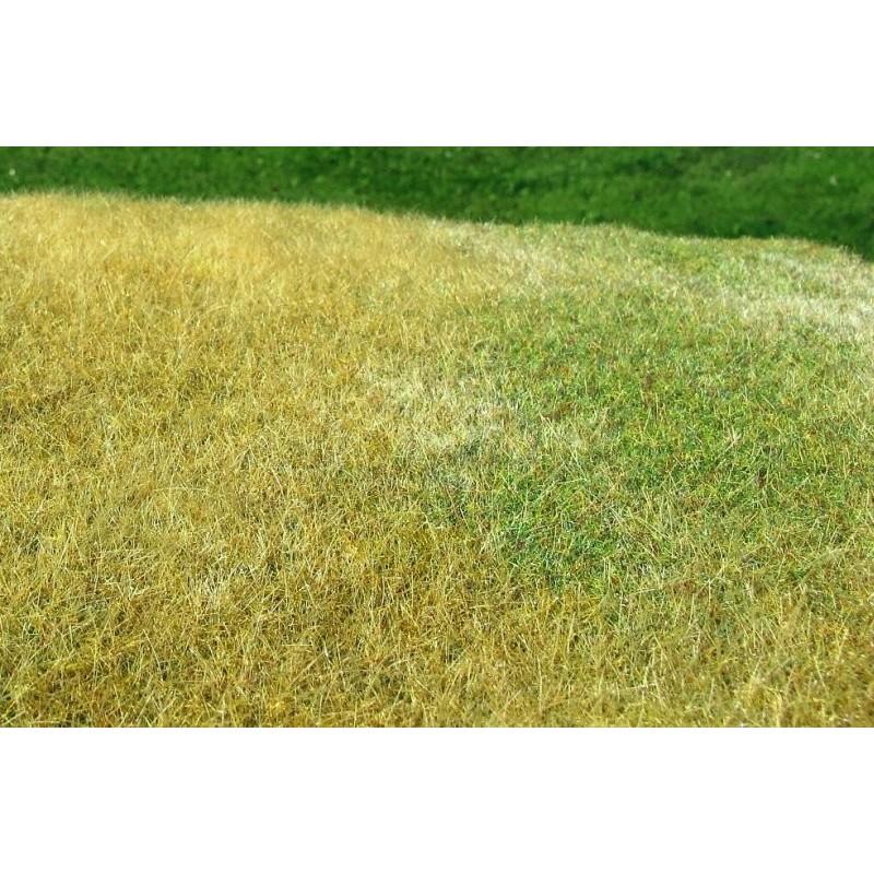 MS-F023 Model Scene F023 grass mats standard (18x28cm).Meadow - High-Model Scene F023 grown, Late summer