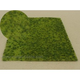 MS-F517 Model Scene F517 grass mats premium 18x28cm.Summer meadow with small trurfs