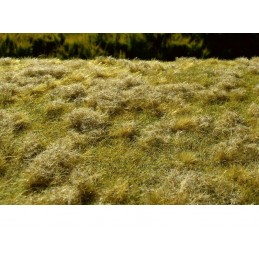 MS-F523 Model Scene F523 grass mats premium 18x28cm.Fallow field, Late summer