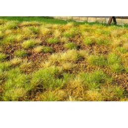 MS-F533 Model Scene F533 grass mats premium 18x28cm.Steppe unwatered (late summer)