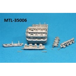 MTL-35006 1/35 Workable Metal Tracks for Pz.Kpfw.VI Tiger Early