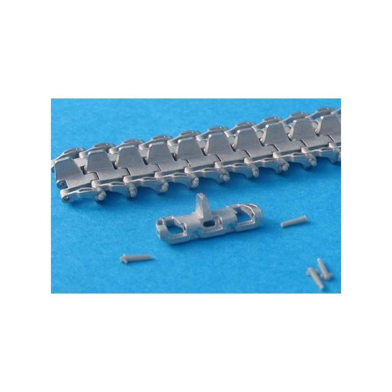 MTL-35012 1/35  Workable Metal Tracks for Pz.Kpfw.IV . StuG III  1943 - 45 solid-horne
