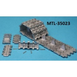 MTL-35023 1/35 Workable Metal Tracks for T-34  M1943 wafer