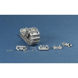 MTL-35058 1/35 Workable Metal Tracks for Pz 38t Late