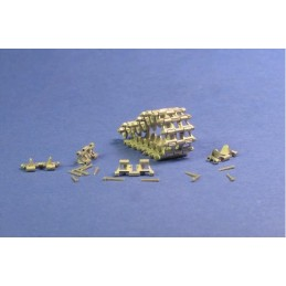 MTL-35069 MASTERCLUB 35069 1/35 Workable Metal Tracks for Pz.Kpfw.II, Wespe