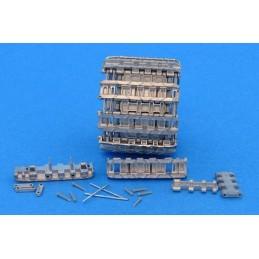 MTL-35097 MASTERCLUB 35097 1/35 Workable Metal Pz.Kpfw.VI Ausf.B Kingtiger, Gg 24/800/300 Late