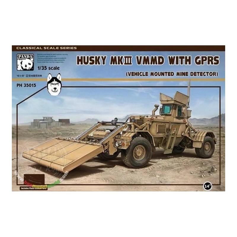 PH-35015 Panda Hobby 35015 1/35 Husky Mk.III VMMD with GPRS (Vehicle mounted mine detector)