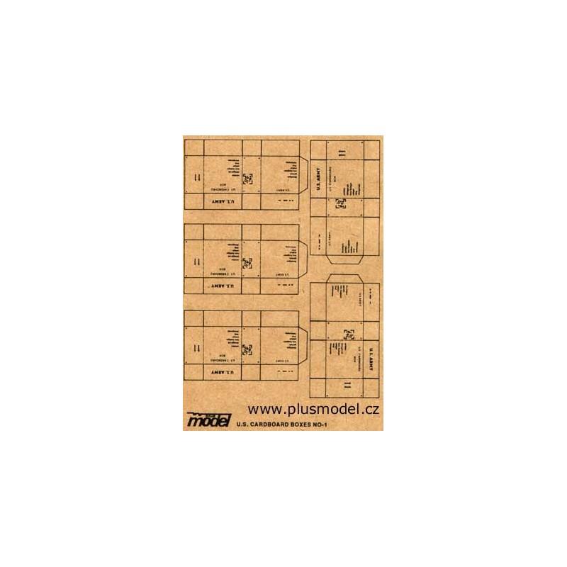 PL-009 pl-009 Plus Model 009 U.S. Cardboard Boxes