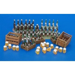 PL-220 1/35 beer bottle and crates