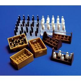 PL-221 plus model 221 1/35 botellas de leche y cajas