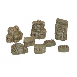 PL-399 Plus Model 399 1/35 U.S. rucksacks WWII