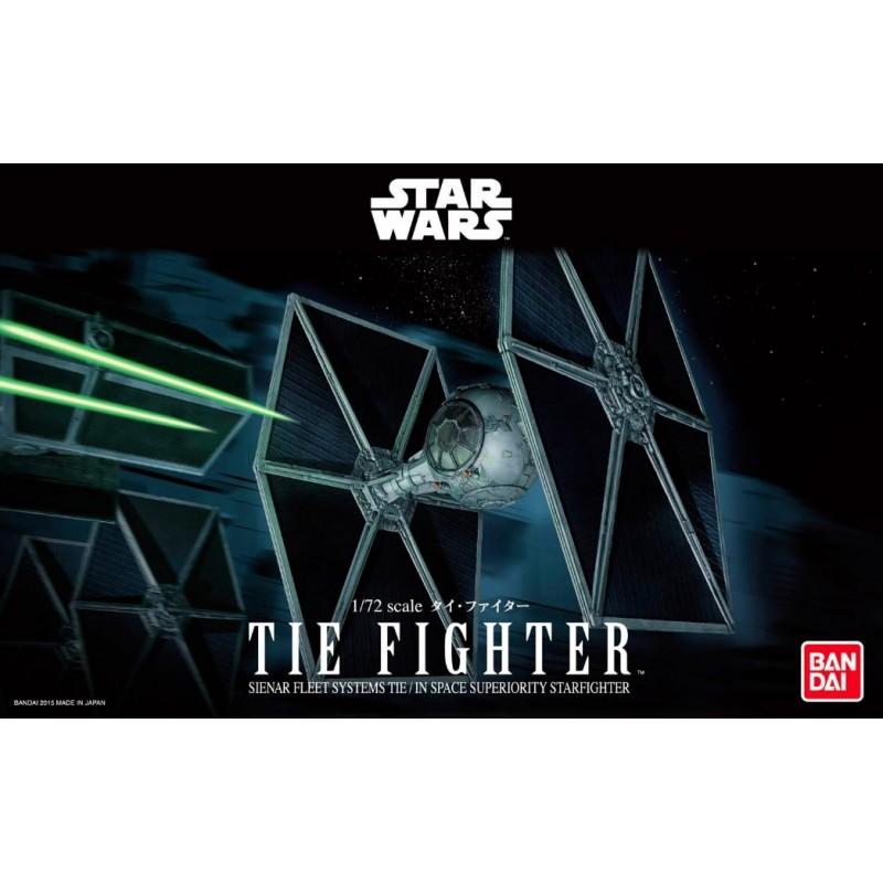 REV-01201 Revell 01201 1/72 Star Wars TIE Fighter. Bandai 0194870