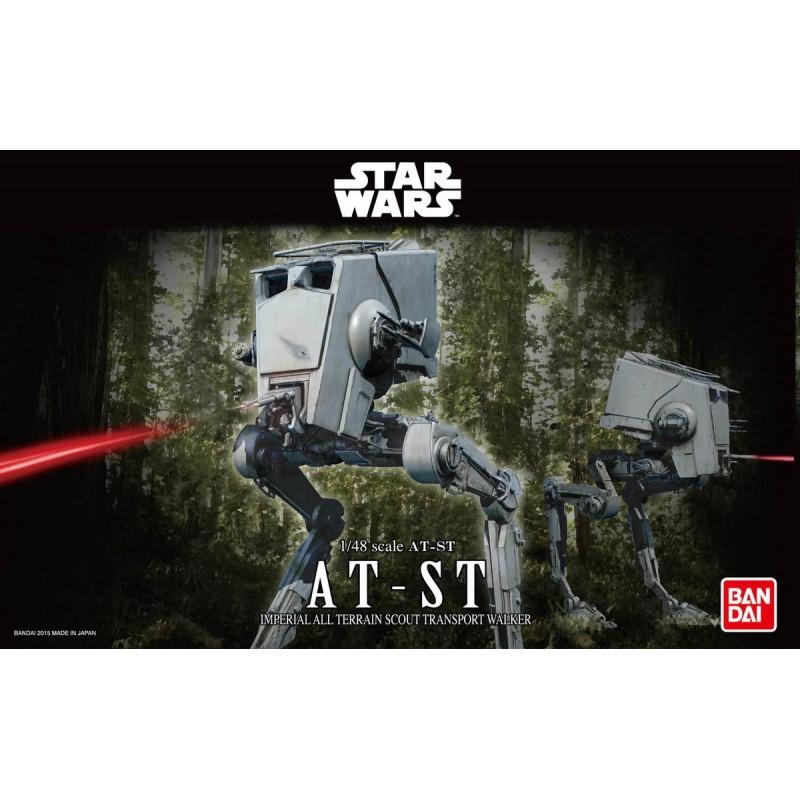 REV-01202 Revell 01202 1/48 Star Wars AT-ST.Bandai 0194869