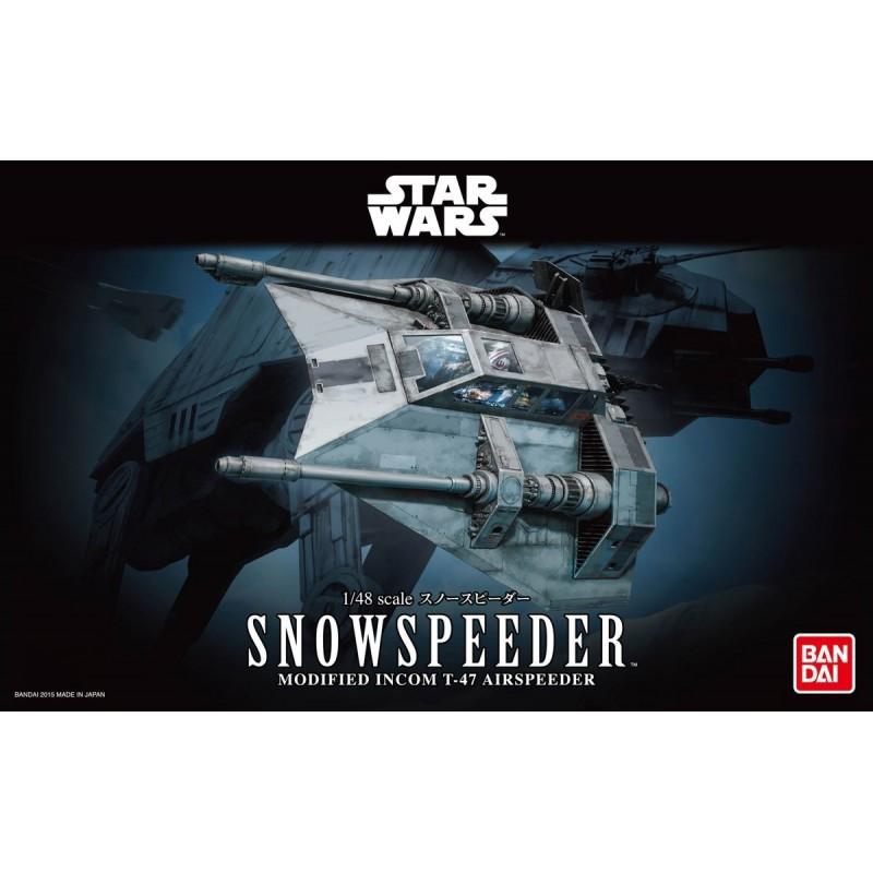 REV-01203 Revell 01203 1/48 Star Wars Snowspeeder. Bandai 0196692