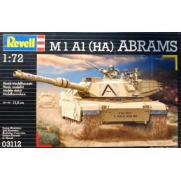 REV-03112 REVELL 03112 1/72 Revell 03112 M1A1 (HA) Abrams