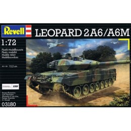 REV-03180 REVELL 03180 1/72 German Leopard 2A6M MBT