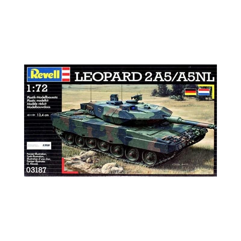 REV-03187 REVELL 03187 1/72  German Leopard 2 A5/A5 NL