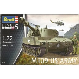 REV-03265 Revell 03265 1/72 M109 US Army