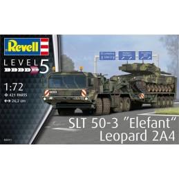 "REV-03311 Revell 03311 1/72 SLT 50-3 ""Elefant"" + Leopard 2A4"