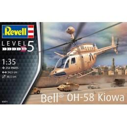REV-03871 Revell 03871 1/35 Bell OH-58 Kiowa