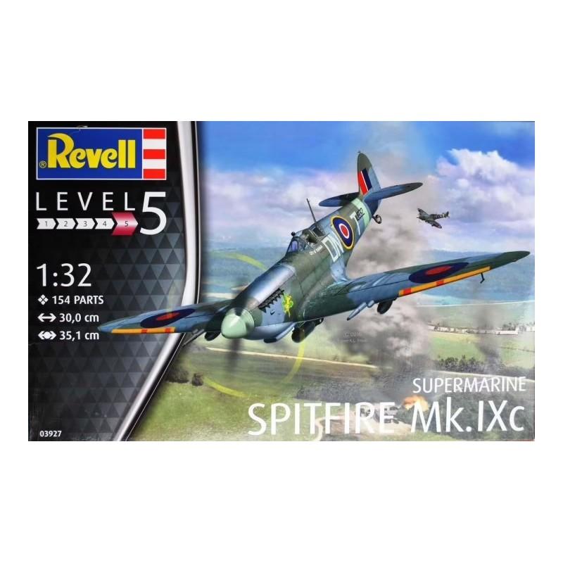 REV-03927 Revell 03927 1/32 Supermarine Spitfire Mk.IXc