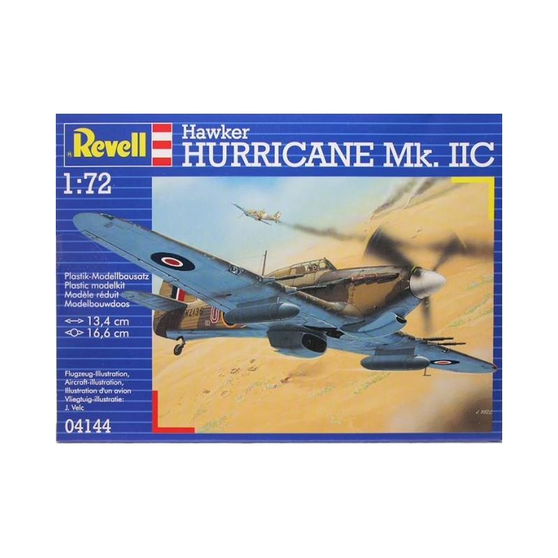 REV-04144 Revell 04144 1/72 Hawker Hurricane Mk IIC