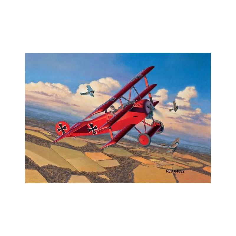 REV-04682 1/48 Fokker Dr.I Triplane
