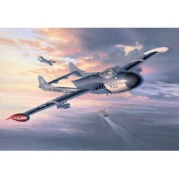 REV-04709 1/32 CAZA NOCTURNO DE HAVILLAND SEA VENOM FAW-22