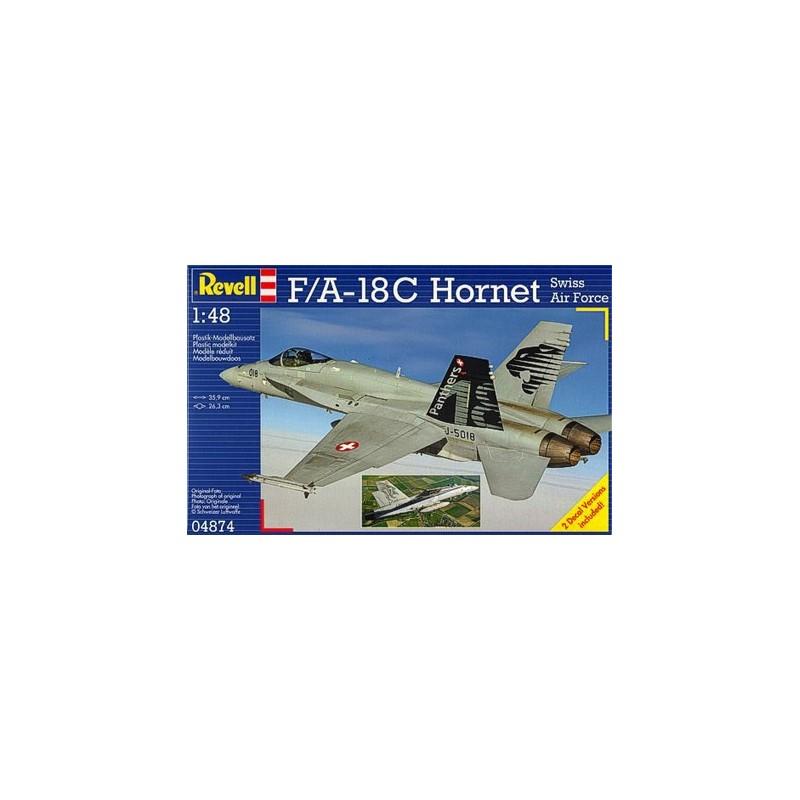 REV-04874 Revell 04874 1/48 F/A-18C Hornet Swiss A.F.