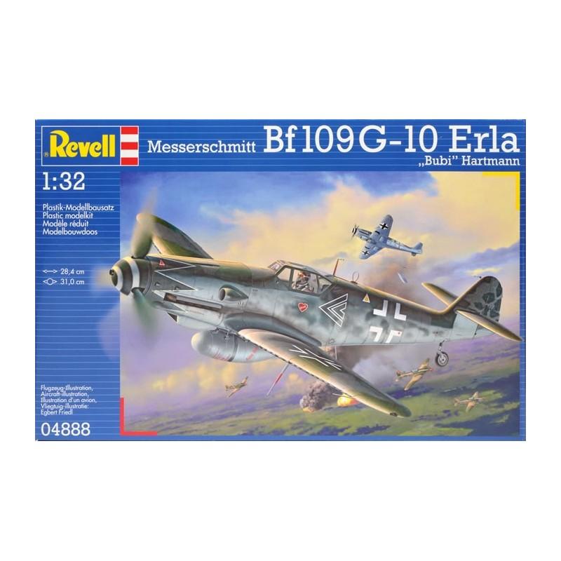 """REV-04888 Revell 04888 1/32 Messerschmitt Bf109 G-10 Erla """"Bubi Hartmann"""""""