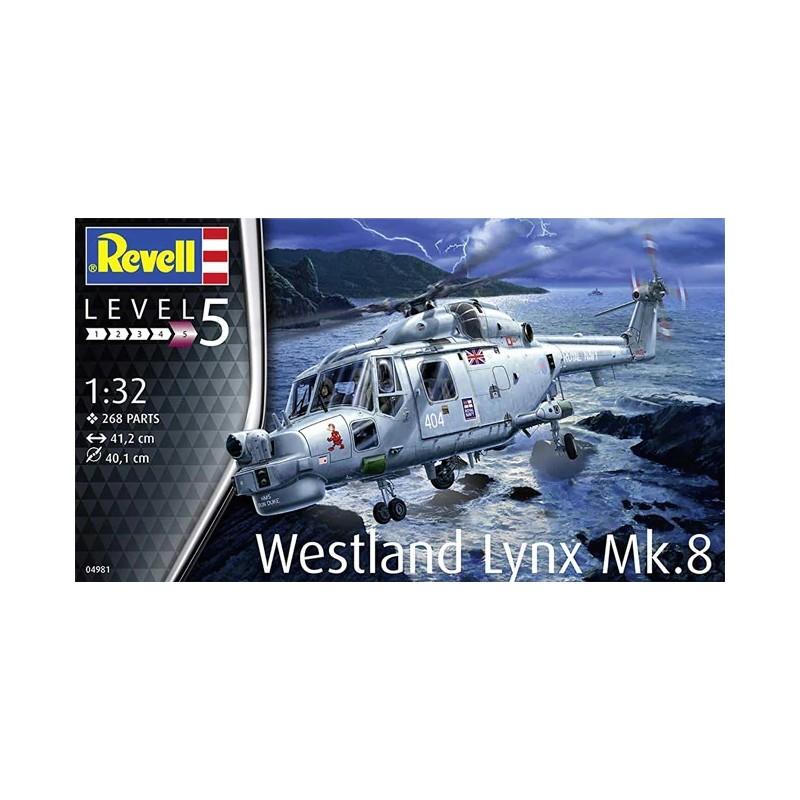 REV-04981 Revell 04981 1/32 Westland Lynx Mk.8