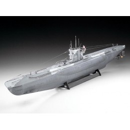 REV-05015 1/72 SUBMARINO U-BOOT TIPO VII-C (U552) WOLF PACK