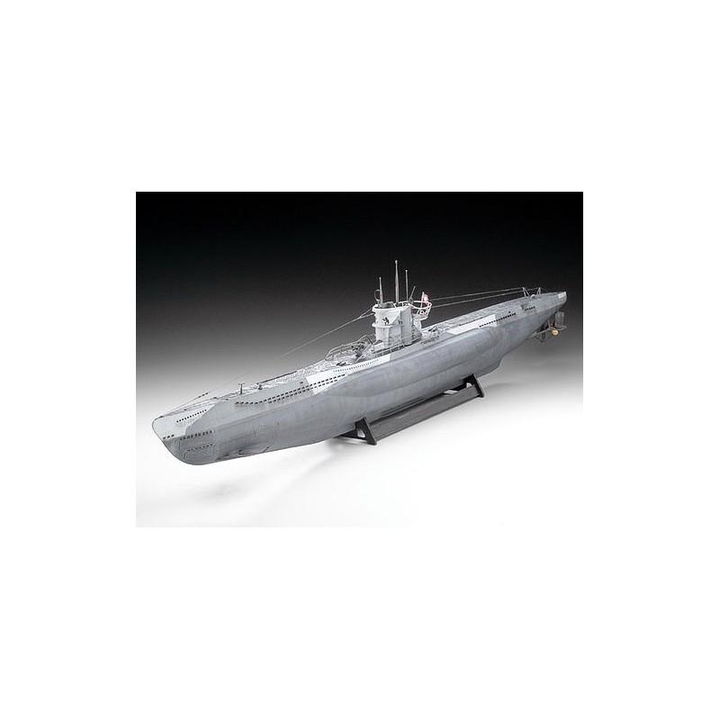 REV-05015 1/72 SUBMARINO U-BOOT TIPO VII-C (U552) WOLF PACK